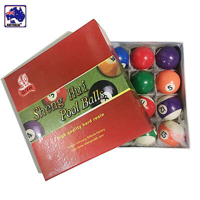 Pool Ball Set Billiards Table Balls For Parties Clubs Pubs 52.5mm OBIL71208