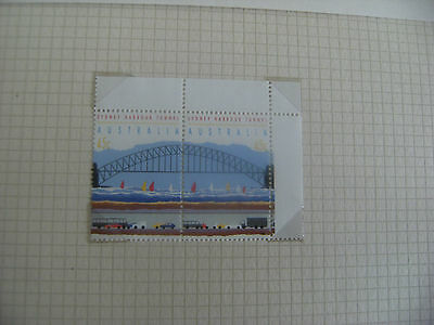Opening of Sydney Harbour Tunnel, 29th August 1992 2 x 45c Stamps