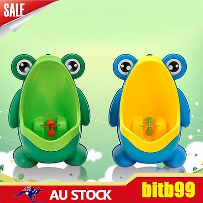 Frog Potty Toilet Children Training Kids Urinal for Boys Pee Trainer Bathroom A#