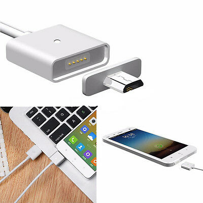 Micro USB 2.4A Charging Cable Magnetic Adapter Charger for Android Samsung/LG SP