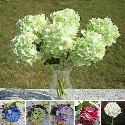 6 Heads/Bunch Artificial Floral Bridal Flower Bouquet Party Wedding Peony Decor