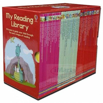 My Second Children Reading Library 50 Books Collection Set By Usborne Gift NEW