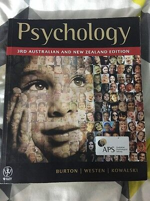 Psychology 3rd Australian and New Zealand Edition  Paperback (2013)