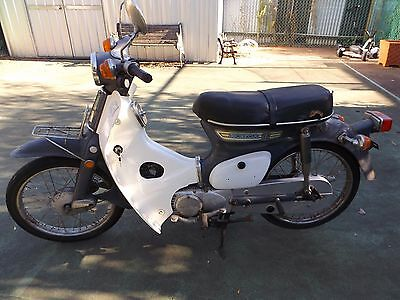 Vintage 1976 Honda C90 Scooter Moped