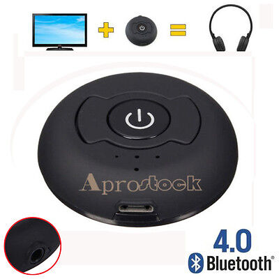 Bluetooth4.0 Transmitter Multipoint H-366T Audio Music Stereo Adapter 3.5mm Jack