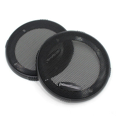 2X 4inch 140MM ABS Coaxial Steel Speaker Coaxial Mesh Grille Cover Sub Woofer
