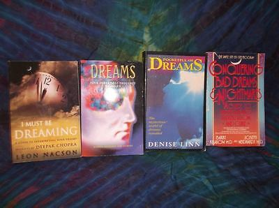 "Look!bulk New Age/ Esoteric/ Spiritual/ Metaphysical Book Lot- ""dreams"" Lot #44"