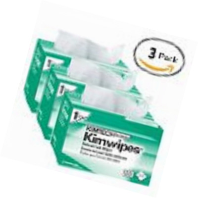 Kimberly-Clark Kimtech Science Kimwipes Delicate Task Disposable Wiper, 8-25/64""