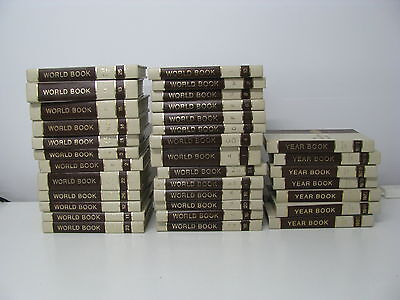 World Book Encyclopedia Set 1974 (with Year Books)