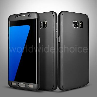 Ultra Thin Hybrid 360° Full Protective Case Cover For Samsung Galaxy S8/S7 edge
