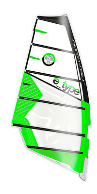 North Sails Windsurf Segel E.Type C14-black-green 2017
