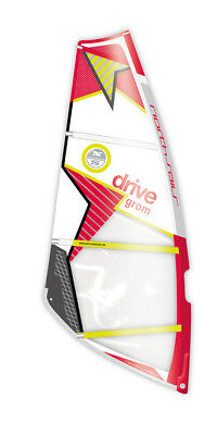 North Sails Windsurf Segel Drive Grom C01-white-red 2017
