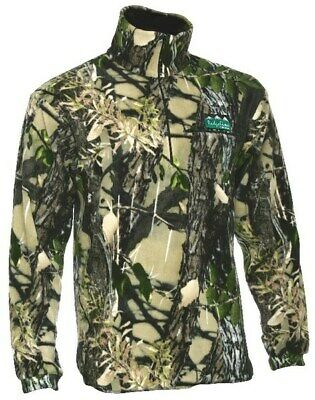 Ridgeline Micro Fleece Zip Hunting Top Buffalo Camo