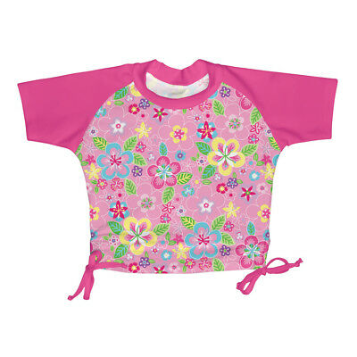 i play Girl Baby UV swimming shirt for pink/flowers sz. 18 Months, 36 Months
