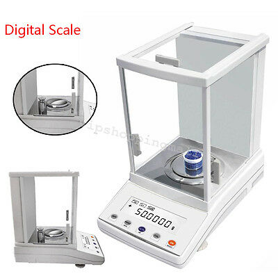 Durable 100X 0.0001g High Precision Electronic Analytical Balance Digital Scale
