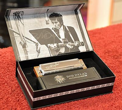 Hohner Limited Edition Bob Dylan Signature Harmonica M589016 - Key of C / Do
