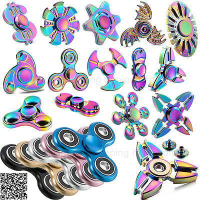 Finger Spinner Gyro Fidget Toys Fidget Hand Spinners For Kids Adult Autism Gift