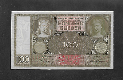 Sale! 100 gulden 1942. NETHERLANDS