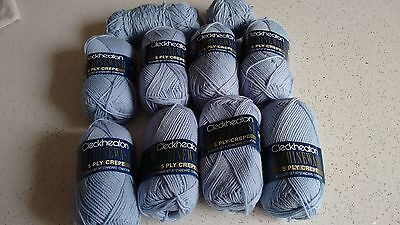Cleckheaton 5 Ply Pure Wool Crepe