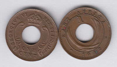 EAST AFRICA 1 Cent 1941I