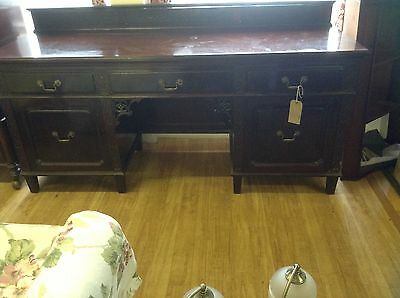 Desk Sideboard Edwardian MAINLAND UK DELIVERY AVAILABLE