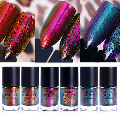 9ml BORN PRETTY Chameleon Nail Polish Starry Sequins Varnish Manicure Decoration