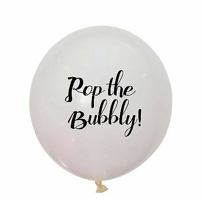 Pop the Bubbly Balloon, Bridal Shower, Hen's Party, Wedding, Designer Balloons