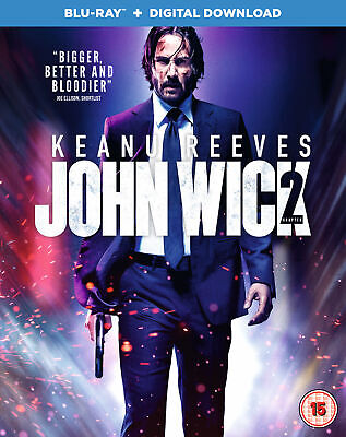 John Wick: Chapter 2 [Blu-ray + Digital Download] [2017] [Region Free] (Blu-ray)