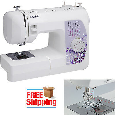 27-Stitch Electric Sewing Machine Portable Embroidery Tailoring Brother LX2763