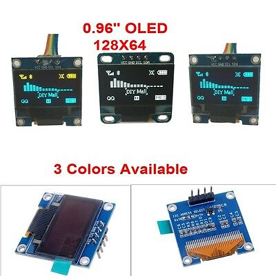 "0.96"" Inch IIC I2C Serial 128X64 OLED LCD Display Module SSD1306 for Arduino DIY"