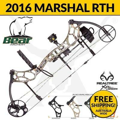 Bear Archery Marshal RTH Compound Bow 2016 - Hunting Bow - Authorized Dealer