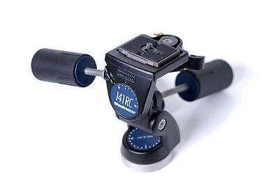 Manfrotto 141RC 3-Way Tripod Head. #MN341 *CLEARANCE*