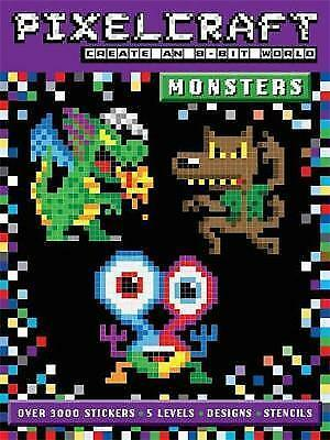 PixelCraft Monsters, Anna Bowles, New Book