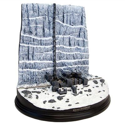 Game of Thrones Castle Black and the Wall Desktop Sculpture UK SELLER