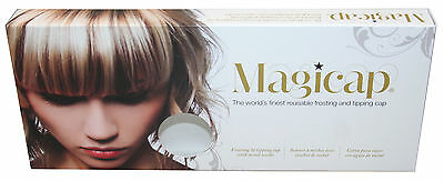 MAGICAP Silicon Hairdressing Highlighting Cap & FREE Hook - Ulta Close Fit
