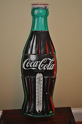 Vintage Coca-Cola Thermometer Advertising Sign