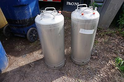 Alloy Products Corp 10 gallon stainless steel general purpose vessel