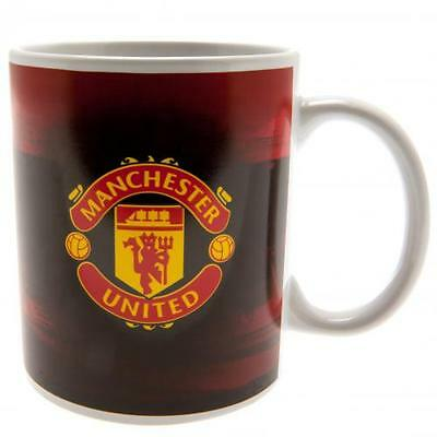 Manchester United FC / Man Utd Official Crested 11oz Mug Old Trafford Gift