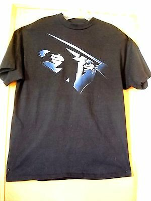 """1994 Short Sleeve  """"the Shadow"""" Movie Promo Swag T-Shirt Men's L"""
