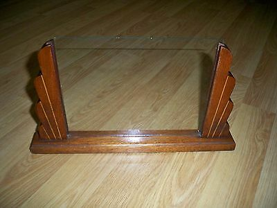 Antique Art Deco Inlaid Wooden Picture Frame
