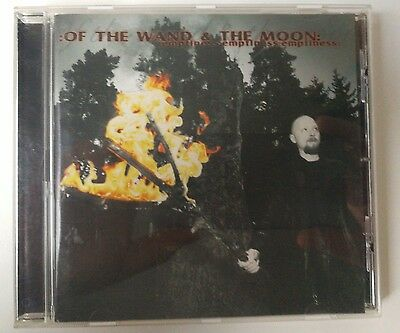 Of The Wand & The Moon : Emptiness:Emptiness:Emptiness: CD (2001)