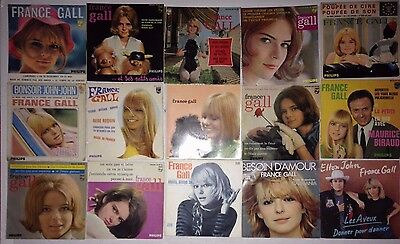 Superbe Lot Disques 45T Special France Gall