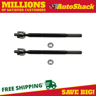 New Pair Of (2) Front Inner Tie Rod Ends fits 2004-2010 Mazda 3 or 5