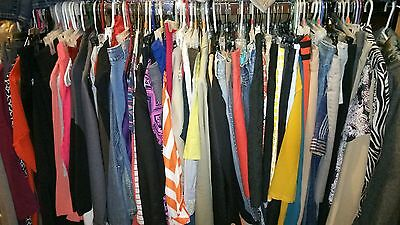 50pc Wholesale Trendy Mixed Lot of Men's Women's Clothing for RESALE BOUTIQUE