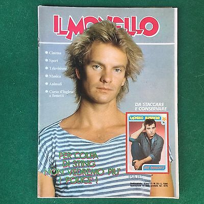 Rivista IL MONELLO n.22 1985 (ITA) STING POLICE PRINCE DEAD OR ALIVE PETE BURNS