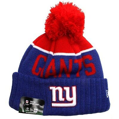 New York Giants Beanie. New Era KIDS NFL Sideline Knit Beanie - Giants 40% OFF