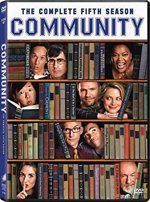Community: The Complete Fifth Season 5 Five (DVD, 2014, 2-Disc Set) - NEW