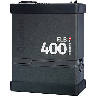 Elinchrom ELB 400 Quadra Battery-Powered Pack with battery and charger