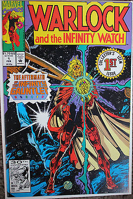 Warlock and the Infinity Watch #1 (Feb 1992, Marvel) Infinity Gauntlet Aftermath