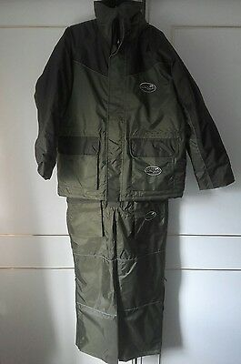 NEW Green Thermo Comfort Fishing Waterproof Suit